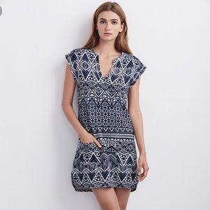 NWT Velvet Blue French Terry Dress